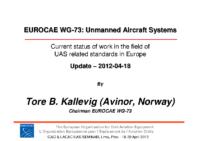 05_Kallevig_EUROCAE_WG73_Status_Update_2012-04-18_LIMA