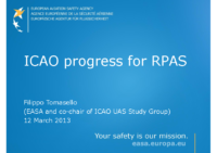 5_Tomasello_EASA_ICAO-RPAS-Progress_130312_rev 2