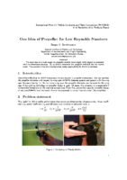One_idea_of_propeller_for_low_Reynolds_numbers