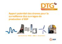 03 – Apport des drones pour la surveillance à EDF