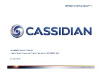 07 – Présentation Cassidian, par Bernadette Veye dit Chareton, Head of Airworthiness and Quality Engineering
