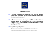 21 – Intervention CNIL